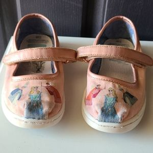 Toms size 10 sleeping beauty shoes